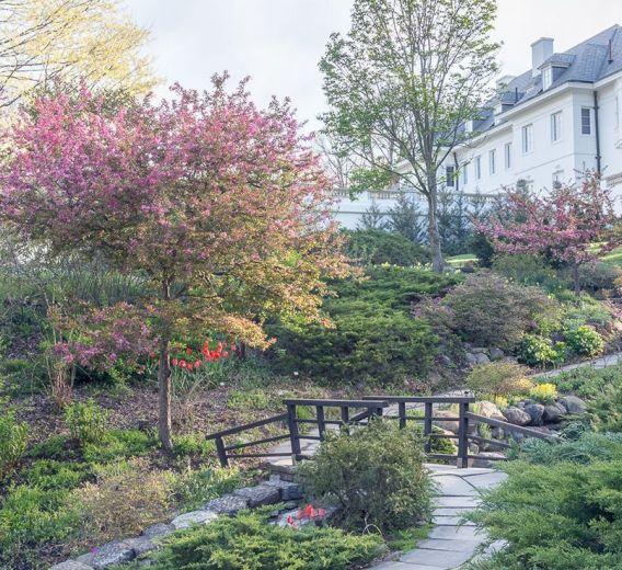 The Ravine Estate House: Ravine Garden :: Newfields